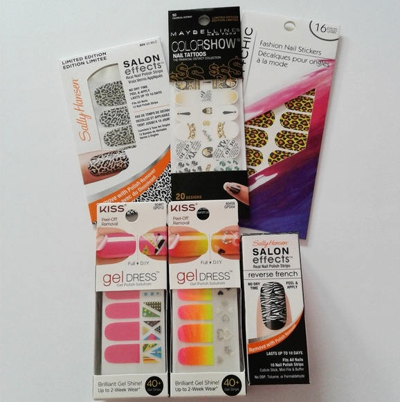 Maybelline Makeup | Sally Hansen Kiss Nail Polish Strips | Poshmark